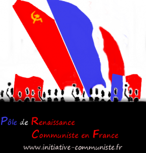 deux drapeaux drapeau français drapeau rouge PRCF