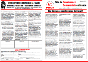 etat d'urgence tract 4 pages PRCF