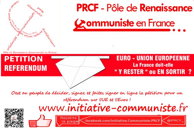 visuel pétition bandeau fond IC referendum euro