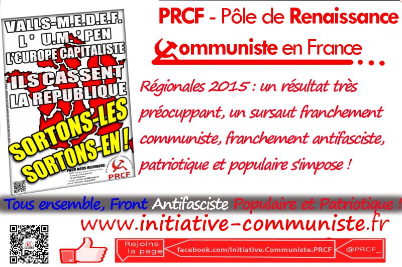 PRCF régionales 2015