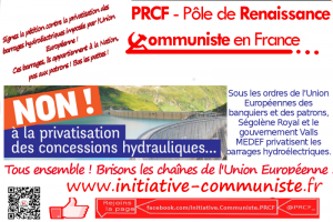 pétition europe barrages