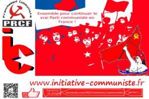 """A propos du soutien critique du PRCF à """"La France insoumise"""" : ni liquidation ni repli identitaire sur fond d'arrimage à l'union de la gauche : retour au léninisme !"""