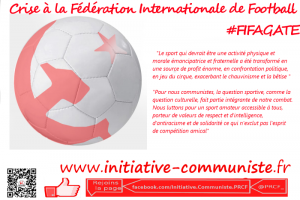 Crise à la FIFA (Fédération Internationale de Football) #FIFAGATE