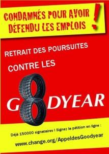 4 février 2016, Place de la NATION : Rassemblement de soutien des 8 de Goodyear !!! Mobilisation générale ! #noussommesdesgoodyear