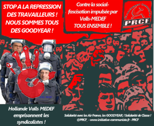 repression syndicale goodyear