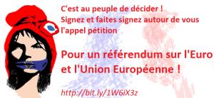 visuel pétition référendum euro marianne baillonée