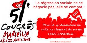 CGT 51e congrès syndicalisme