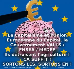 MACRON-MEDEF et l'UE détruisent l'agriculture paysanne française ! #salondelagriculture
