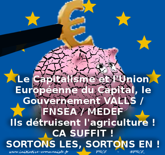 agriculture-valls-fnsea-medef-europe europe dans - ENVIRONNEMENT