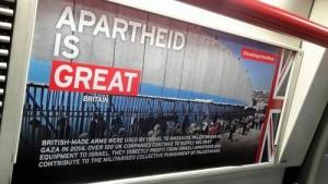 Le métro de Londres accueille une campagne dénonçant « l'apartheid israélien »