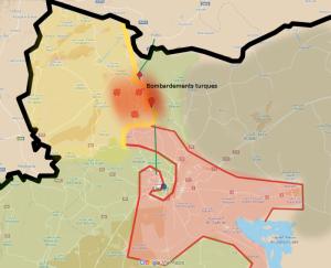 La Turquie bombarde la Syrie, la Russie en appelle au conseil de sécurité de l'ONU