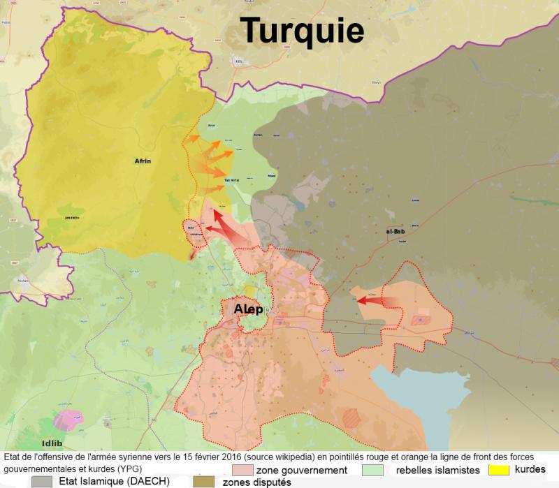 turquie bataille d'alep février 2016