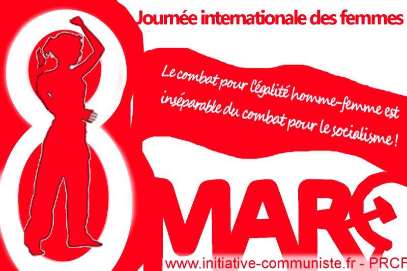 8 mars journée internationale des femmes