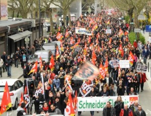 #greve31mars En direct des manifestations : 1,2 million de manifestants pour le retrait de la loi travail