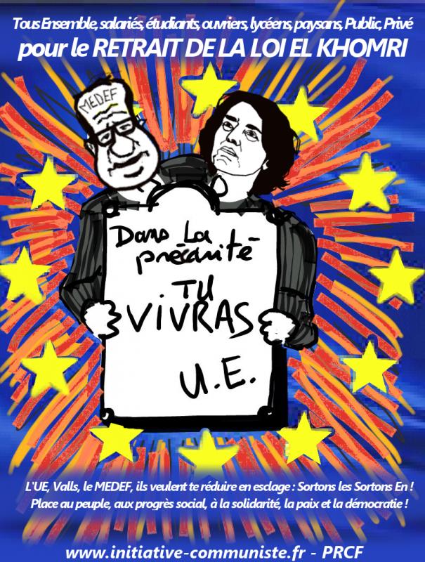Hollande et Vals loi Travail 2016 UE._01