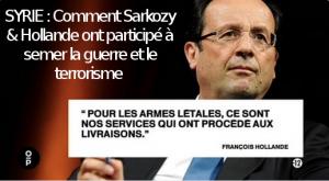 #vidéo #Syrie : quand France 2 montre les responsabilités de Sarkozy et Hollande dans la guerre et le terrorisme islamiste !