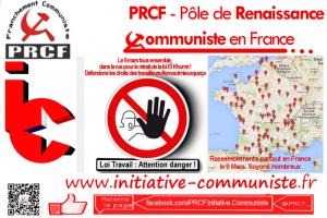 #9mars : Carte des manifestations le 9 mars – L'Intersyndicale appelle à la mobilisation pour le retrait de la Loi travail #loitravailnonmerci