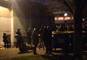 Les CRS attaquent les étudiants occupant la fac de Rouen - 17 mars 2016