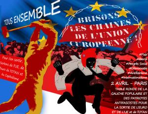 Après la Table ronde du 2 avril : soutien au mouvement social et lutte pour la sortie de l'UE !
