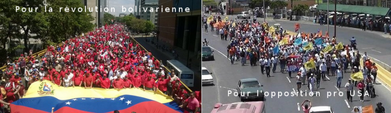 venezuela manifestation opposition révolution bolivarienne