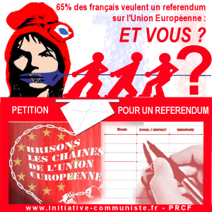 #pétition 5000 signatures pour un referendum pour la sortie de l'UE et de l'euro #Frexit
