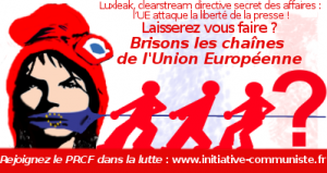 UE liberté de la presse luxleak