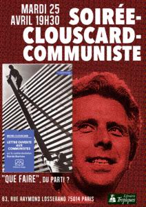 Lettre ouverte aux communistes : sortie de ce livre inédit de Clouscard aux éditions Delga [26 avril 2016 Paris]