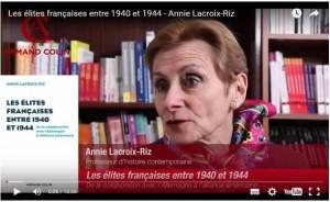 Annie Lacroix-Riz : Les élites françaises, 1940-1944. De la collaboration avec l'Allemagne à l'alliance américaine. #vidéo