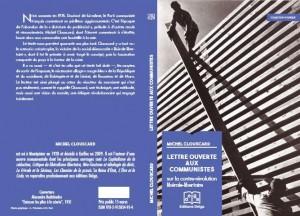 Lettre ouverte aux communistes : un texte inédit de Michel Clouscard -préface d'A Monville