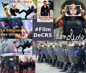 Les réseaux sociaux soutiennent la CGT et raillent les violences policières #FilmDeCRS #pétition