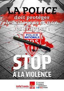 Malaise dans la police : l'appel aux policiers républicains de refuser de taper sur le peuple !