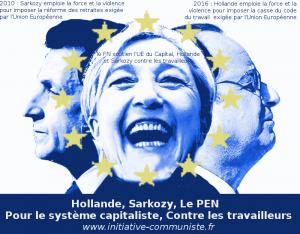 Hollande fait du Sarkozy, Fascisation des droites : Résistance #loitravail #JeSoutiensLaGreve #raffineries