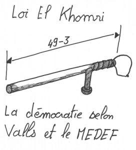 49-3 pour la loi El Khomri : à contenu pourri forme antidémocratique ! #49-3