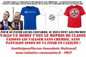 Emanuel Macron ou la morgue du mépris de classe de ceux qui se payent des costards en faisant les poches aux travailleurs ! #vidéo