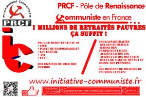 1 millions de retraités pauvres