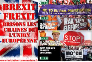 #Brexit / Frexit : c'est par la porte à gauche que la France doit sortir du carcan européen – par Georges Gastaud .