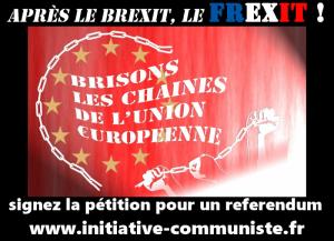 Pétition : par milliers les français exigent un referendum sur l'euro et sur l'Union Européenne #frexit