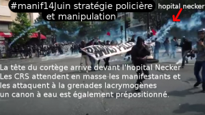 manipulation necker violences policières manifestation