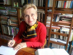 """Colloque Henri Guillemin et la Commune """"1940 une défaite choisie comme en 1870"""" – Entretien avec Annie Lacroix-Riz [19/11/2016]"""