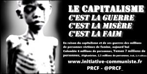Le capitalisme c'est la famine et la guerre ! #ONU