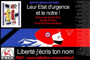 Non à l'Etat d'Urgence ! l'appel de Léon Landini, résistant FTP MOI, président du PRCF