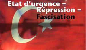 """""""A bas l'impérialisme ! L'OTAN, L'UE impérialiste, fauteurs de coups d'Etat, doivent être dissouts"""" [Parti Communiste,Turquie]"""