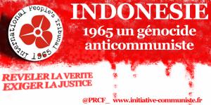 28 juin 2018 journée internationale d'étude  : Indonésie, la mémoire du génocide de 1965 et la question des droits de l'Homme