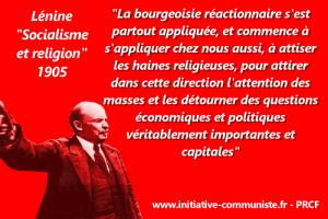 Socialisme et religion – par Lénine