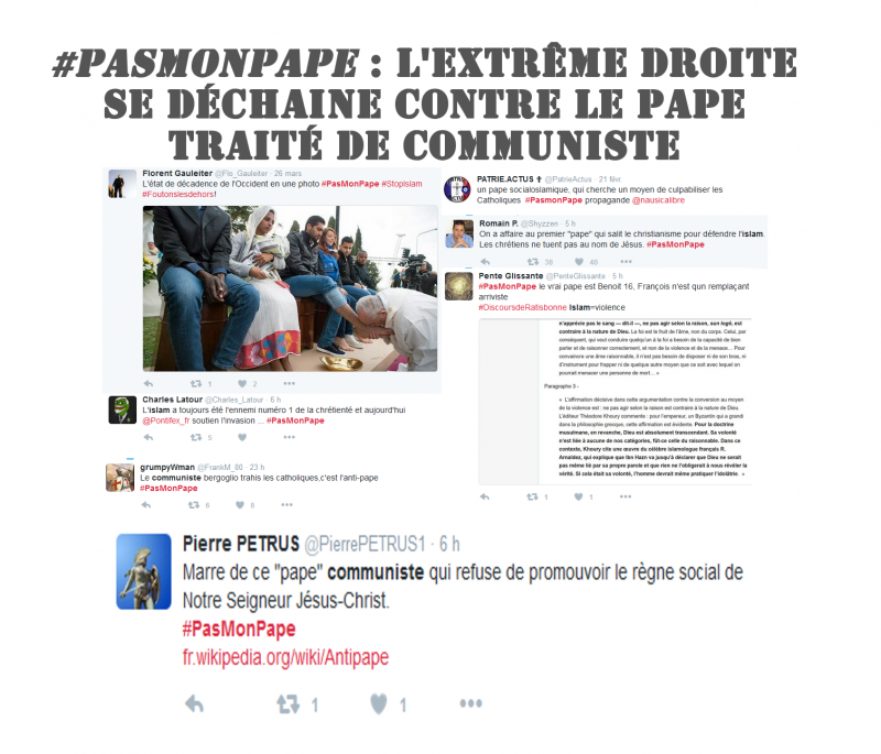 pamonpape pape communiste islam