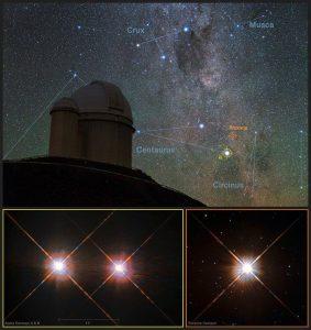 Crédit: Y. Beletsky (LCO)/ESO/ESA/NASA/M. Zamani - ESO