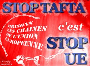 stop tafta stop UE