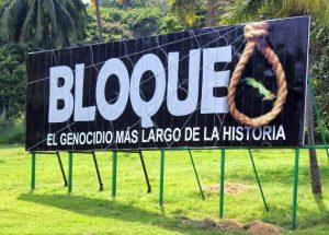 Trump veut renforcer le blocus de Cuba, criminel et illégal.