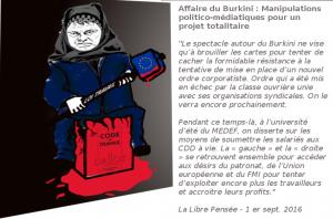 Affaire du Burkini : Manipulations politico-médiatiques pour un projet totalitaire [communiqué de la Libre Pensée]