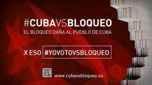 Stoppons le blocus de Cuba : votez en ligne #CUBAVSBLOQUEO #YoVotoVsBloqueo